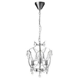 Kristaller IKEA Chandelier ceiling light fixture